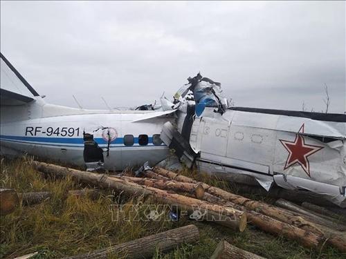 Rơi máy bay tại Nga Tổng cộng có 16 người thiệt mạng
