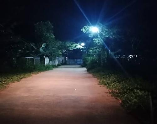 Thái Bình thắp sáng các tuyến đường nông thôn