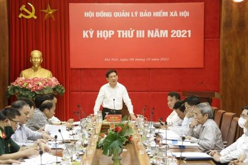 Định hướng, quyết nghị nhiều vấn đề quan trọng tại kỳ họp Hội đồng quản lý BHXH Việt Nam