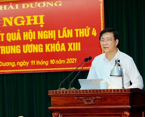 Hải Dương Chủ động, linh hoạt thực hiện tốt Nghị quyết Trung ương 4 khóa XIII