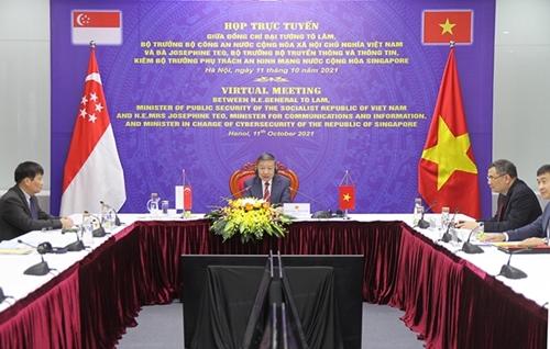 Đẩy mạnh hợp tác Việt Nam – Singapore trong lĩnh vực an ninh mạng