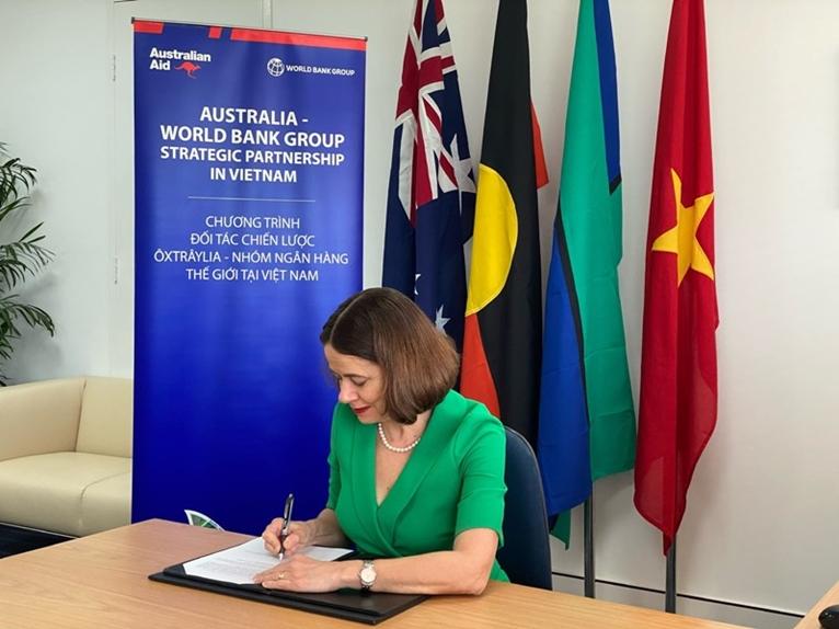 Australia và Nhóm Ngân hàng Thế giới hỗ trợ Việt Nam thúc đẩy chương trình phát triển