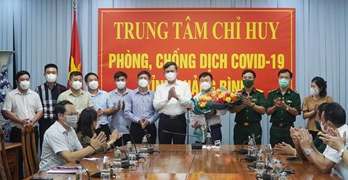 Quảng Bình chi viện giúp Lào chống dịch COVID-19