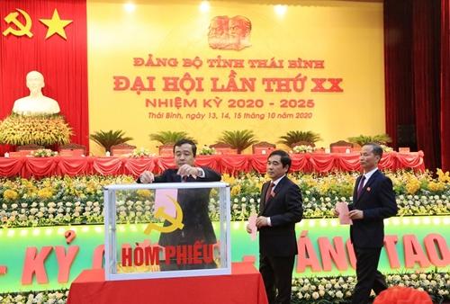 Tỉnh ủy Thái Bình vững mạnh về chính trị, tư tưởng và đạo đức