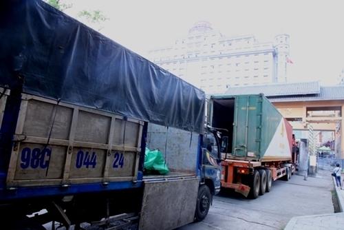 Xuất nhập khẩu hàng hóa qua các cửa khẩu ở Lạng Sơn tăng trưởng mạnh