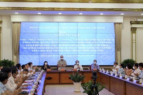 TP Hồ Chí Minh nhanh chóng xây dựng chương trình trung hạn phục hồi kinh tế