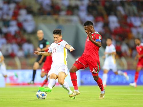 Đội tuyển Việt Nam thua ngược 1-3 Oman