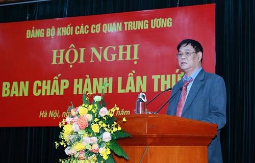 Đảng ủy Khối các cơ quan Trung ương thông qua nhiều nội dung quan trọng