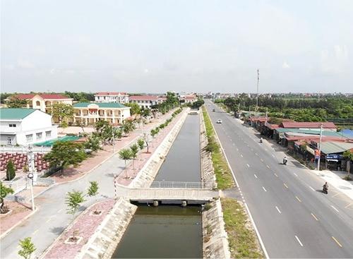 Ninh Giang Khởi sắc sau 10 năm xây dựng nông thôn mới