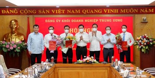 Đảng ủy Khối Doanh nghiệp Trung ương công bố và trao Quyết định về công tác cán bộ