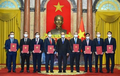 Trao quyết định bổ nhiệm Đại sứ, Trưởng cơ quan đại diện Việt Nam tại nước ngoài