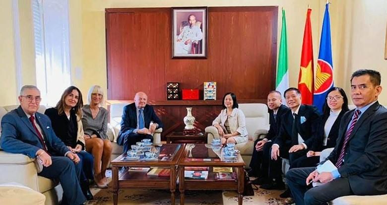 Tăng cường hợp tác kinh tế - thương mại giữa Việt Nam và Italy