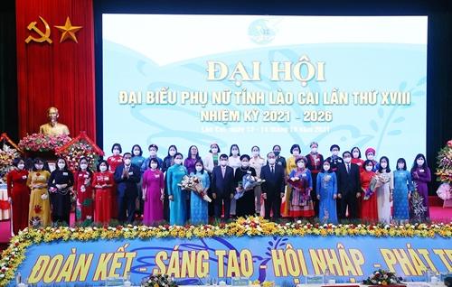 Lào Cai Từng bước khẳng định vai trò, vị thế phụ nữ trong các lĩnh vực