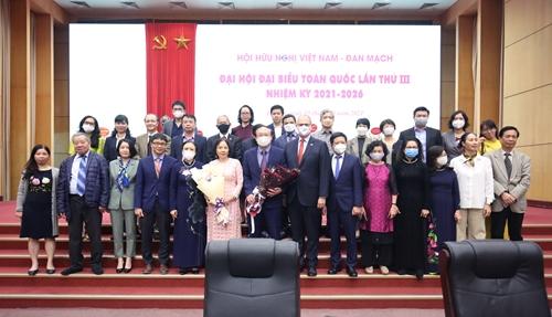 Thúc đẩy quan hệ hữu nghị Việt Nam - Đan Mạch