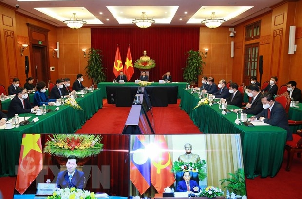 Không ngừng củng cố, phát triển sâu rộng quan hệ Việt - Lào
