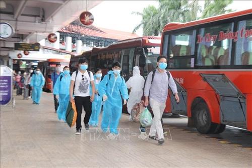 Yên Bái đón 490 công dân từ các tỉnh phía Nam hồi hương