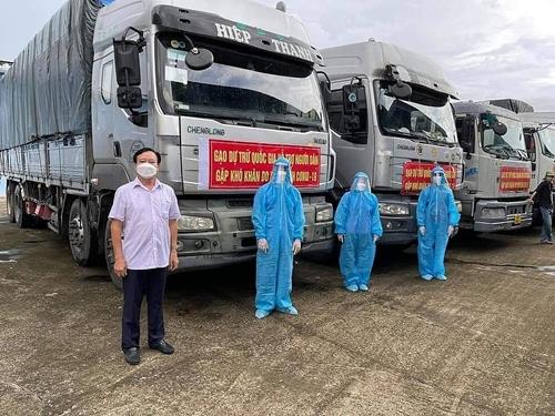 Tổng cục Dự trữ đã xuất cấp hơn 162 nghìn tấn gạo
