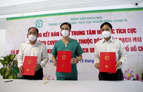 Bệnh viện Bạch Mai bàn giao Bệnh viện dã chiến số 16 cho TP Hồ Chí Minh