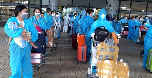Hà Giang đón gần 500 công dân trở về từ vùng dịch