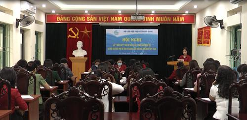 Góp ý dự thảo Báo cáo chính trị Đại hội đại biểu Phụ nữ tỉnh Hà Giang lần thứ XVII