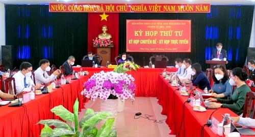 Phú Yên thông qua nhiều nghị quyết quan trọng về phát triển kinh tế - xã hội