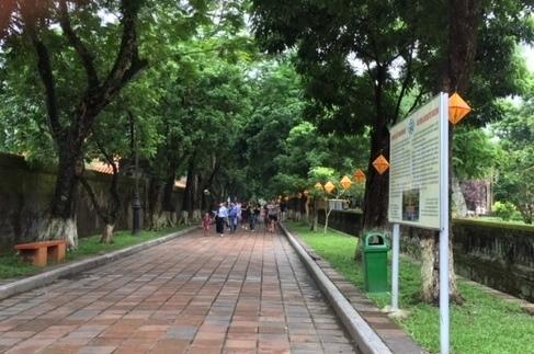 Xây dựng đề án phố đi bộ xung quanh Đại Nội Huế