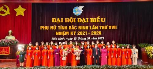 Bắc Ninh phát triển có đóng góp quan trọng lực lượng phụ nữ