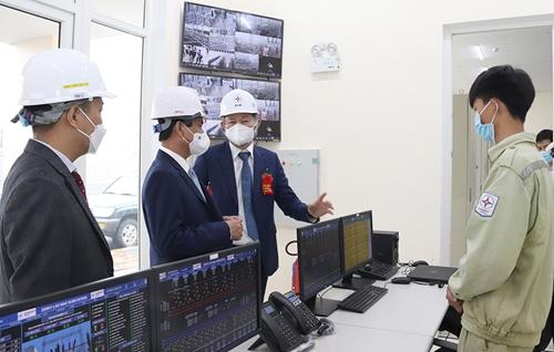 Khánh thành công trình giải toả công suất 19 nhà máy điện gió tỉnh Quảng Trị