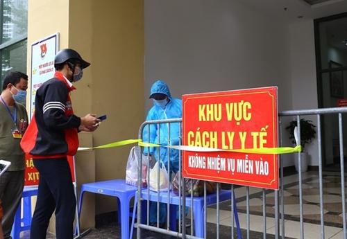 Phát hiện thêm 12 ca mắc COVID-19 tại Hà Nội
