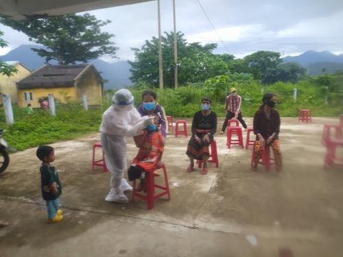 Quảng Nam Ghi nhận 52 ca COVID-19 tại huyện Phước Sơn