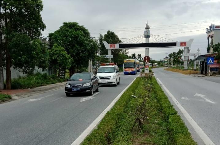 Thái Bình tổ chức đón gần 500 công dân phía Nam về quê  