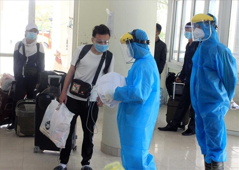 Gần 500 công dân Thái Bình đầu tiên ở các tỉnh phía Nam được đón về quê