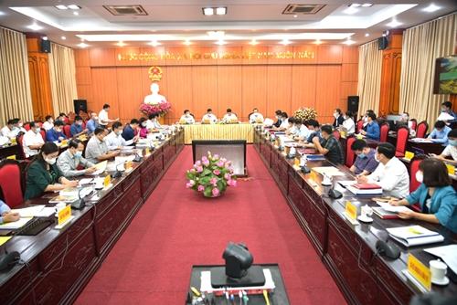Quy hoạch tỉnh Hà Giang phải bám sát các đột phá về giao thông, nông nghiệp và du lịch