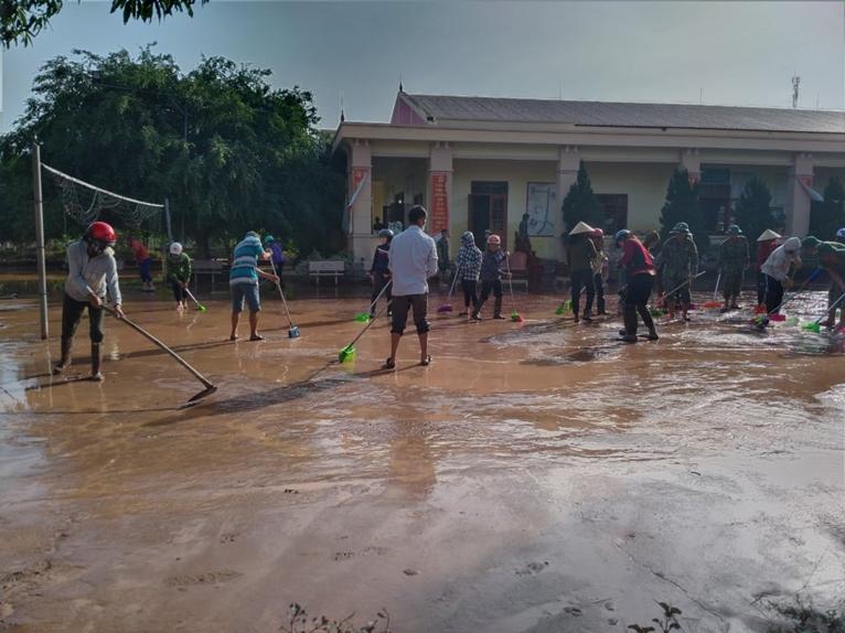 Sớm khắc phục hậu quả do ảnh hưởng của mưa lũ