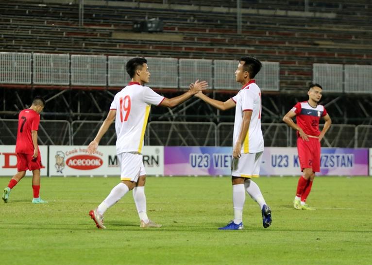 U23 Việt Nam thắng 3-0 trong trận giao hữu với U23 Kyrgyzstan