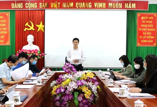 Hà Giang 14 15 Đảng bộ trực thuộc tổ chức thành công Hội thi Báo cáo viên giỏi cấp huyện