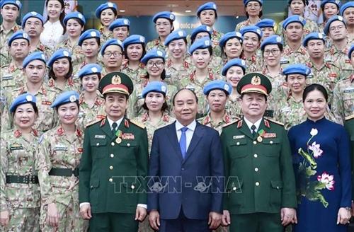 """Chủ tịch nước Hoàn thành xuất sắc vai trò """"Sứ giả hòa bình"""" của Việt Nam"""