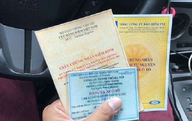 Xe mua lại bị mất giấy mua bán, làm thế nào để đăng ký?