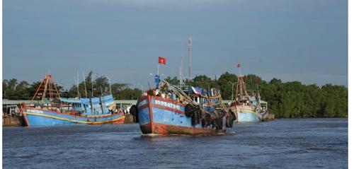 """Bến Tre Quyết liệt xử lý tàu cá vi phạm, tháo gỡ """"thẻ vàng"""" IUU"""