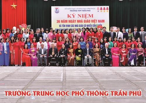 Trường THPT Trần Phú Vĩnh Phúc  70 năm một chặng đường