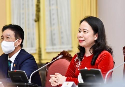 Phó Chủ tịch nước tiếp các nữ Đại sứ, Đại biện nước ngoài tại Việt Nam