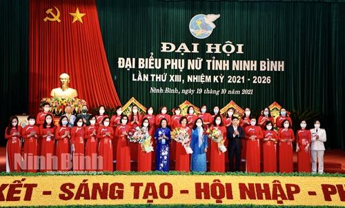 Đại hội đại biểu Phụ nữ tỉnh Ninh Bình lần thứ XIII thành công tốt đẹp