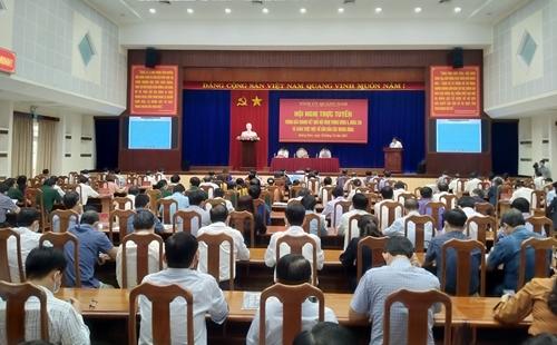 Quảng Nam Thông báo nhanh kết quả Hội nghị Trung ương 4