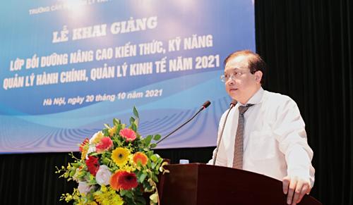 Bồi dưỡng kiến thức, kỹ năng quản lý hành chính, quản lý kinh tế năm 2021