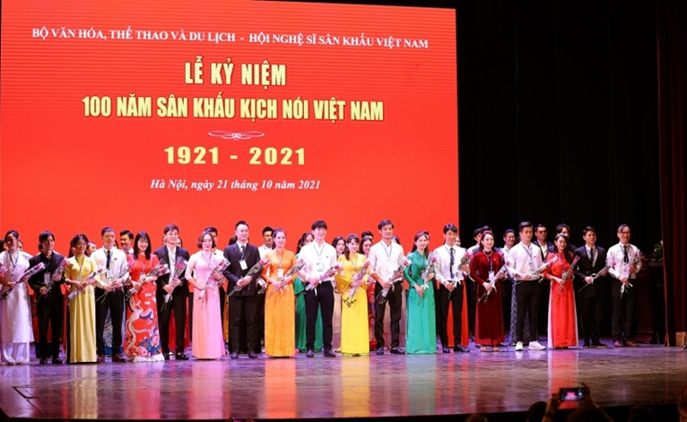 Kỷ niệm 100 năm sân khấu kịch nói Việt Nam