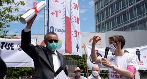 Sức khỏe và biến đổi khí hậu Cảnh báo đỏ vì một tương lai mạnh khỏe