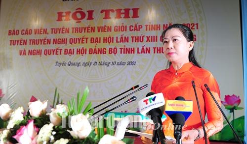 Tuyên truyền sinh động, hiệu quả nhất Nghị quyết Đại hội Đảng