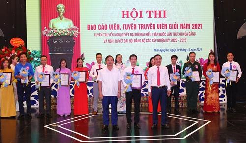Thái Nguyên thi báo cáo viên, tuyên truyền viên giỏi cấp tỉnh
