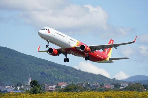 Vietjet khôi phục 48 đường bay nội địa