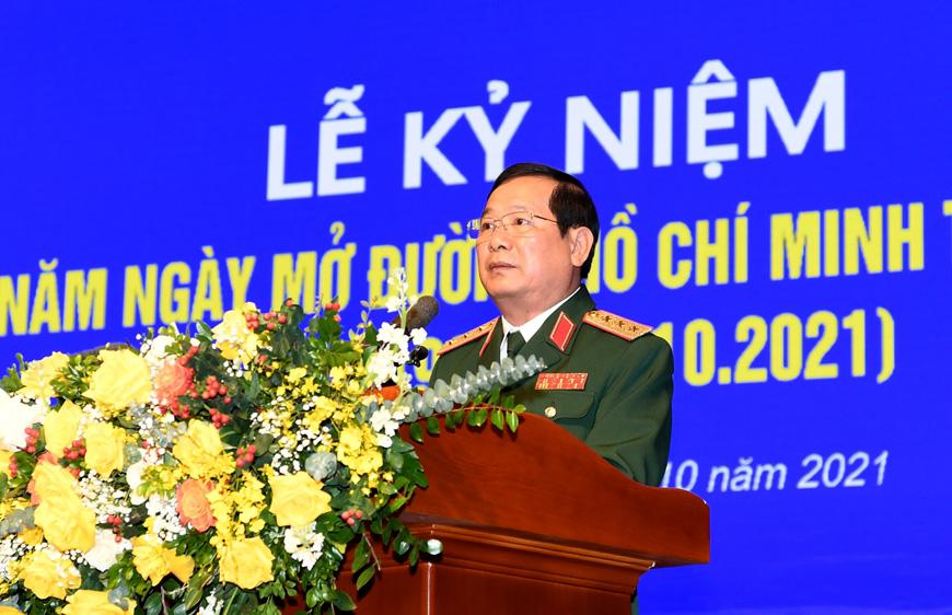 Đường Hồ Chí Minh trên biển mãi là niềm tự hào của Quân đội ta, Nhân dân ta